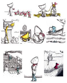 Doodleswap 14 - feline fairytales