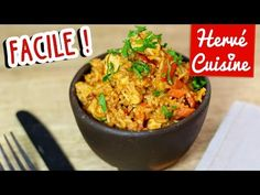 Recette Riz au poulet facile (one pot chicken rice) Practical recipes video recipe – The Most Practical and Easy Recipes Easy Pasta Dinner Recipes, Best Pasta Dishes, One Pot Pasta, Food Dishes, One Pot Chicken, Chicken Rice, Healthy Pasta Salad, Healthy Meats, Healthy Food