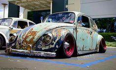 Rad Racer — VW Beetle rat style