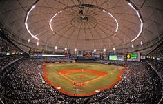 Tropicana Field in Tampa Bay, home of the Rays. In ch 16 Deana compares the Trop to Ted Turner field. She had to move to N Georgia from Tampa. www.adealwithGodbook.com