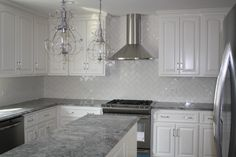 Grey Granite Countertops With White Cabinets 3bantu86