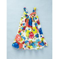 Printed Sun Dress, 2-3 years