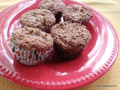 Apple Crumb Muffins - gluten/grain free