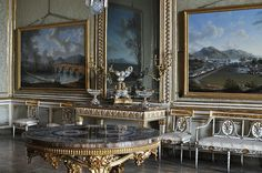 Fumoir or Winter Hall, Royal Palace of Caserta