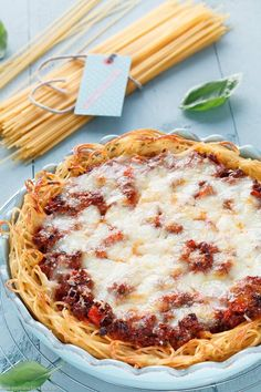 Spaghetti Pie - www.emmikochteinfach.de