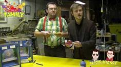 Mack and Mickey show us how to build a toy theatre, part 5 Youtube