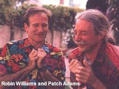 patch adams y robin williams