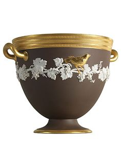 Wedgwood & Bentley Opulent Golden Bird Bowl