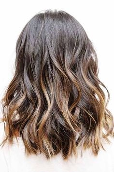 Balayage for Medium Length Hair. 10 Balayage Hairstyles for Shoulder Length Hair Medium Haircut 70 Flattering Balayage Hair Color Ideas for Medium Hair Styles, Curly Hair Styles, Medium Length Hair With Layers, Asian Hair Medium Length, Brown Mid Length Hair, Shoulder Length Hair Balayage, Natural Wavy Hair, Luscious Hair, Brunette Hair