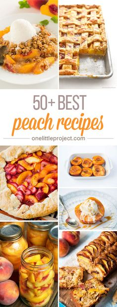 pear dessert recipes, roman dessert recipes, italian dessert recipes with pictures - This list has the BEST peach recipes! There are so many different things to try and they all look AMAZING! I have no idea where to even start! Fruit Recipes, Baking Recipes, Dessert Recipes, Pear Dessert, Snack Recipes, Healthy Recipes, Snacks, Fresh Peach Recipes, Recipes With Peaches