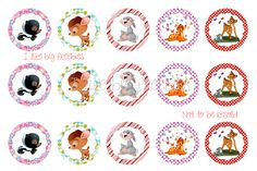 I like big freebies: Bambi bottlecap images for your hairbows