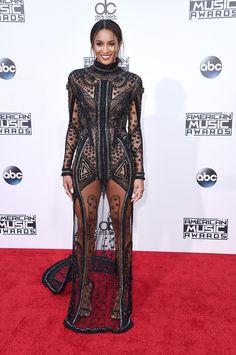 Ciara does sheer right at the #AMAs http://thecut.io/1T94Q8w