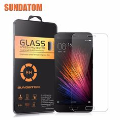 Xiaomi 5 M5 Mi4C MiMax Screen Protector 9H Glass Film Ultra Thin Real SUNDATOM Premium Tempered Glass For Xiaomi Mi5 Mi4 Mi Max  <3 Offer can be found by clicking the VISIT button