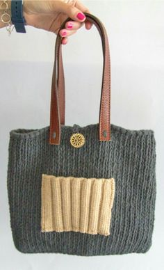 Knitted bags by Cosmen&Co