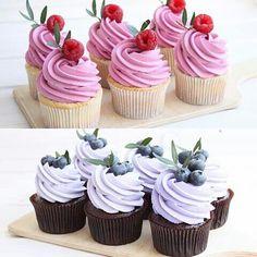 All Time Easy Cake : Cupcakes for the wedding, Cupcake Fimo, Beautiful Cakes, Amazing Cakes, Cupcake Decoration, Cupcake Recipes, Dessert Recipes, Cupcakes Decorados, Wedding Cupcakes, Birthday Cupcakes