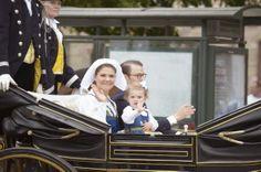 Swedish Royal Family  celebrates national day
