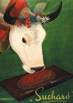 Plakat: Chocolat Suchard, 1937 von Carigiet, Alois