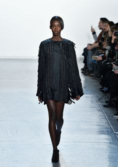 "Fringe Is One Of The Biggest Trends Filling The New York Fashion Week Runways ""Misha Nonoo"""