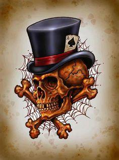 Skull by Brook-Sama