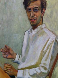 Ed Ziff, 1963, Alice Neel (Colwyn, Pennsylvania, 28 de enero de 1900 – 13 de octubre de 1984) fue una pintora retratista estadounidense. Sus pinturas destacan por su uso expresionista de la línea y del color, profundidad psicológica e intensidad emocional. Figure Painting, Painting & Drawing, Francoise Gilot, Alice, Abstract Portrait, Art For Art Sake, Look At You, Female Art, Art Drawings