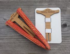 Niddy Noddy 1 yard Collapsable Travel Size Bamboo by katrinkles