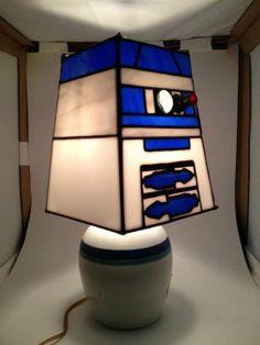 R2D2 Lamp   View 1   By Joseph Olson
