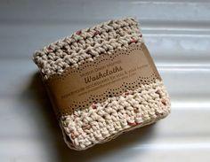 Crocheted Cotton Dishcloths or Washcloths by MasonDixonMamas