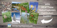 NaturExplorers Giveaway – Set of 8 NaturExplorers Guides {$96 value} – Life of a Homeschool Mom