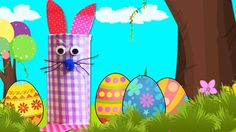Easy Easter Crafts: Cute Easter Bunny Craft for Kids | DIY Easter Fun