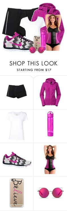 """""""Believe"""" by bren-johnson ❤ liked on Polyvore featuring Michael Kors, The North Face, Max 'n Chester, NIKE, Casetify and Matthew Williamson"""