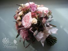 vintage bride's bouquet by bloomsdayflowers, via Flickr