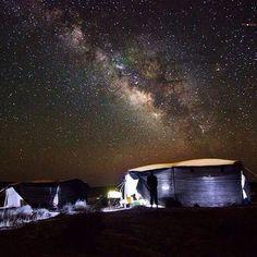 #repost @mati_and_ronis_guest_house Desert sky at Mitspe Ramon #stars #starrynight #israel #visitisrael #summernights #beautiful #nature #milkyway