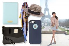 Studying (or Traveling) Abroad This Summer? Here are 12 Accessories You NEED | Art by Ashley Minette | Teenvogue.com