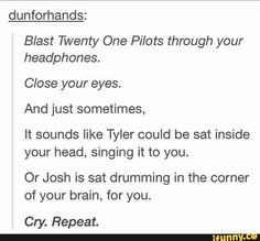 How to listen to TØP