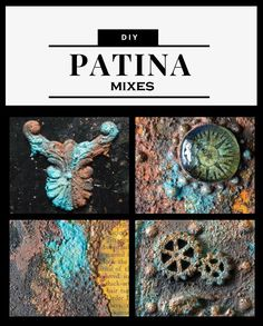 DIY Patina Mixes - Make it Yourself- Updated with Video! - The Graphics Fairy