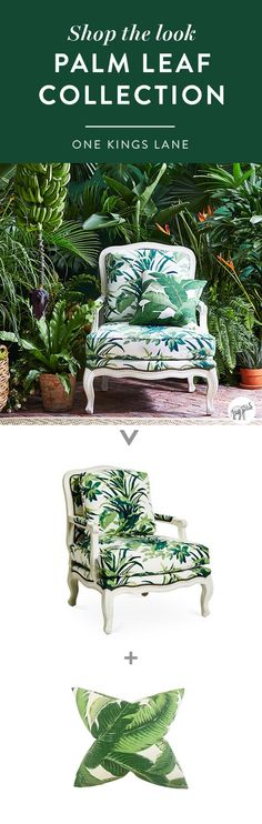 Want to recreate the feeling of an inspiring island-escape in your own living room? Shop our exclusive collection of palm leaf print pieces, and get ready to create your own urban jungle at home!