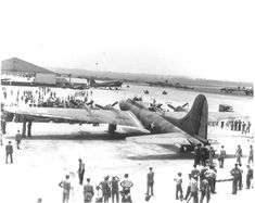B-17F Flying Fortress bomber 'Memphis Belle' visiting Patterson Field on a War Bond campaign, Ohio, United States, 1943; Source: United States Air Force