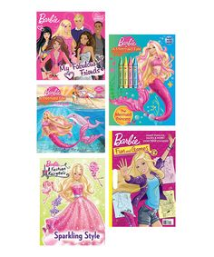 Barbie Activity Book Set