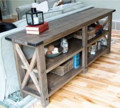http://ana-white.com/2012/05/plans/rustic-x-console.