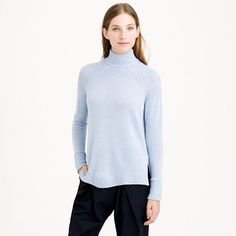 J.Crew - Collection cashmere back-zip turtleneck sweater $278 take 40% off that.