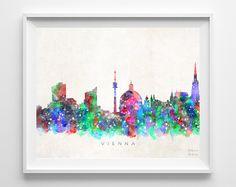 Watercolor Artwork, Watercolor Print, City Painting, China Art, Wall Art Prints, Click Photo, Astana Kazakhstan, Posters, Ankara