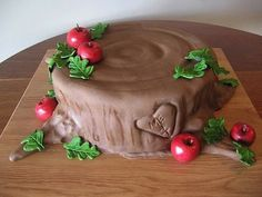 The Giving Tree (Shel Silverstein).  (from 30 Gorgeous and Delicious Literary Cakes, on Flavorwire 3/1/13)
