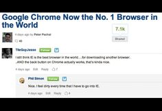 Google Chrome now the No 1 Browser in the world