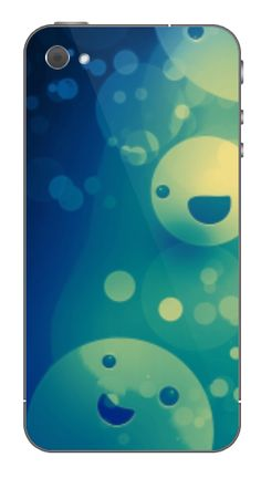 Smily iPhone skin