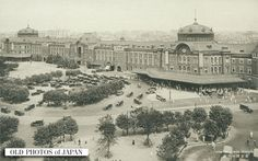 View of Tokyo Station. 1920