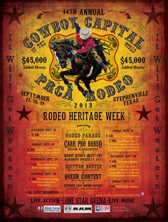 ❦ Stephenville Texas PRCA Rodeo