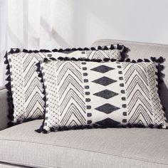 Amias Block Print Pillow Set of 2