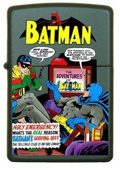 Batman Custom Zippo Design # 3
