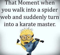How to become a karate master.