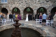 Charlevoix Wedding Pastor Photo at Castle Farms Military Dream Wedding Heroes Wedding Giveaway Photography | Andi + Dwayne photo by Paul Retherford